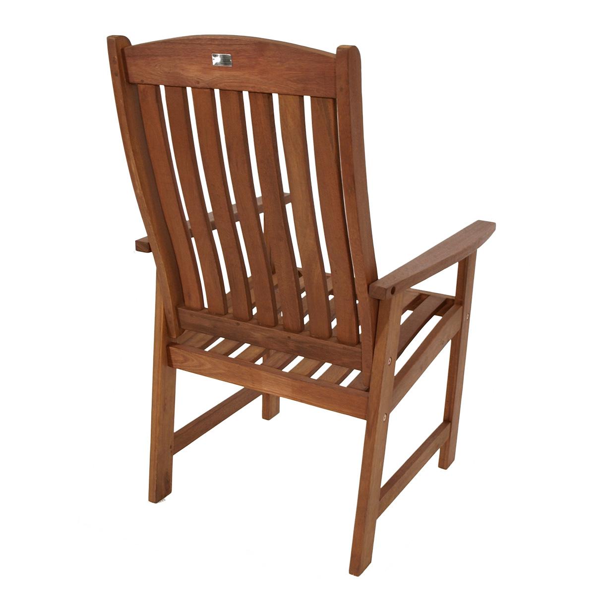 hochlehner sessel gartenstuhl hochlehnersessel dakar eukalyptus fsc zert ebay. Black Bedroom Furniture Sets. Home Design Ideas