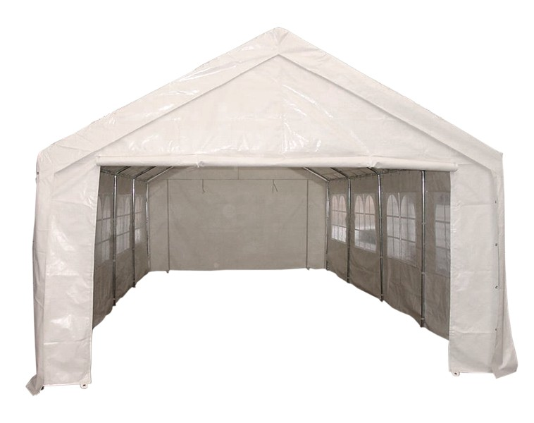 profizelt pavillon festzelt palma 4x6 meter pvc weiss. Black Bedroom Furniture Sets. Home Design Ideas