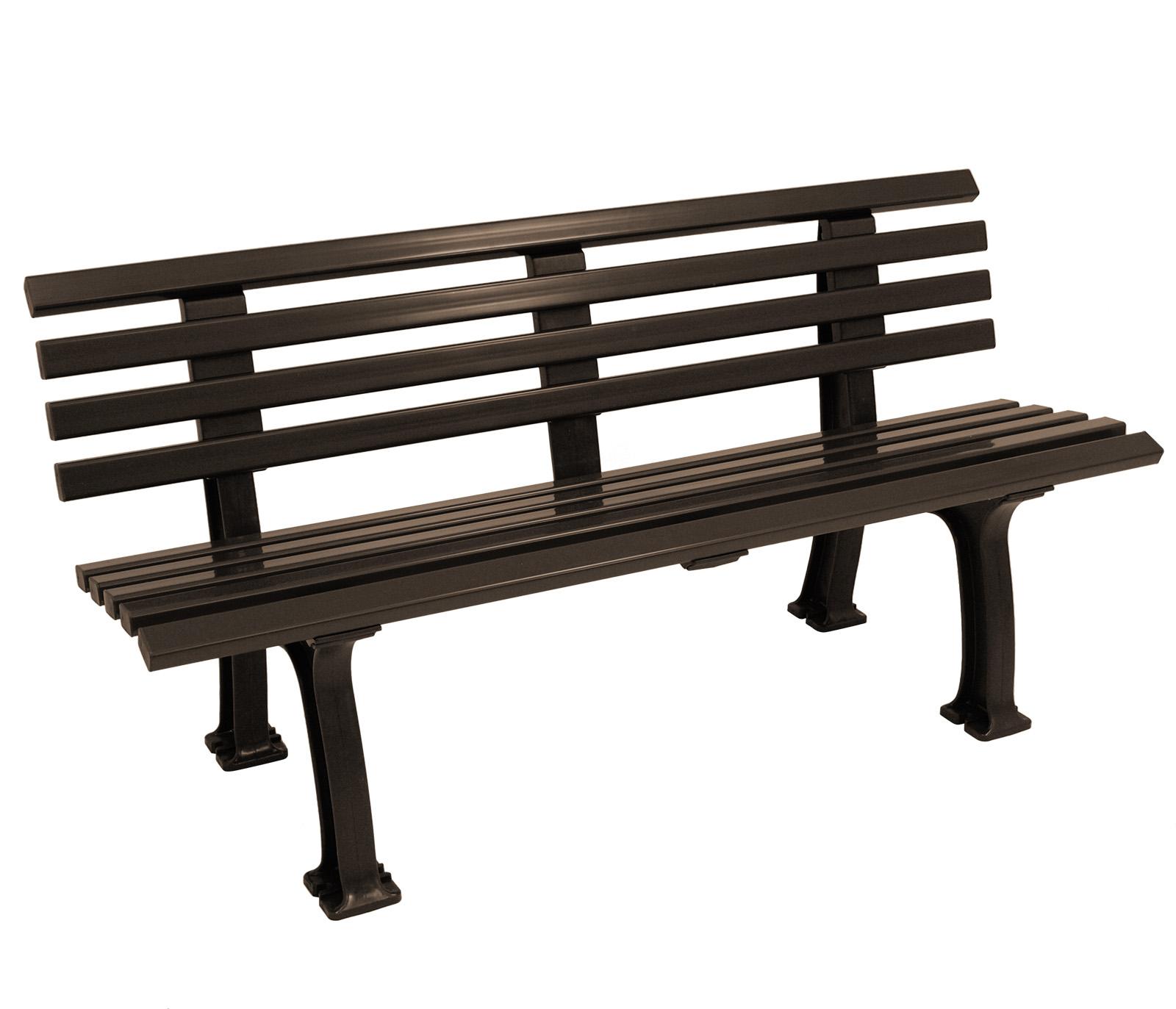 parkbank kunststoffbank sylt 3 sitzer 150cm kunststoff dunkelbraun wetterfest ebay. Black Bedroom Furniture Sets. Home Design Ideas