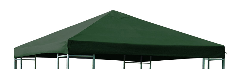 ersatzdach pavillondach dachplane pavillonplane f r pavillon 3x3 meter gr n ebay. Black Bedroom Furniture Sets. Home Design Ideas