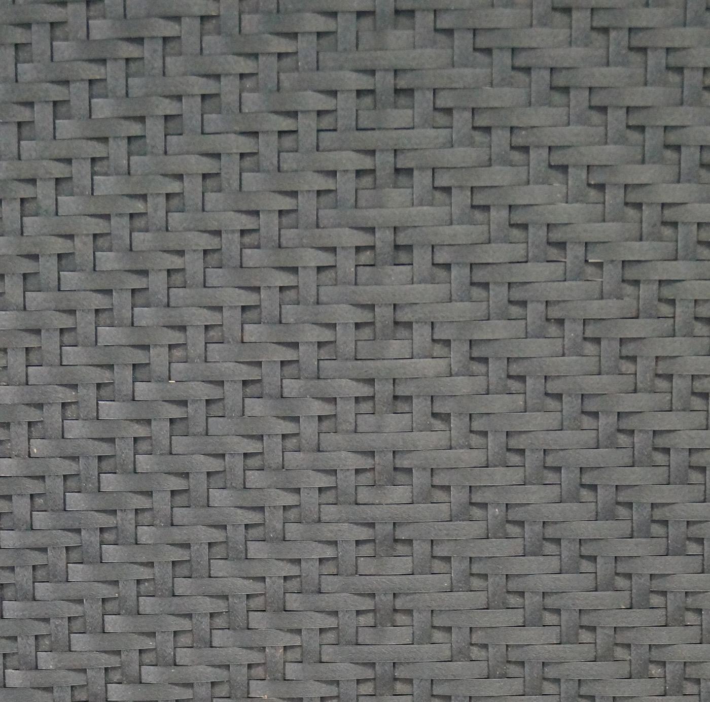 gartensessel gartenstuhl klappsessel vienna rattan schwarz. Black Bedroom Furniture Sets. Home Design Ideas