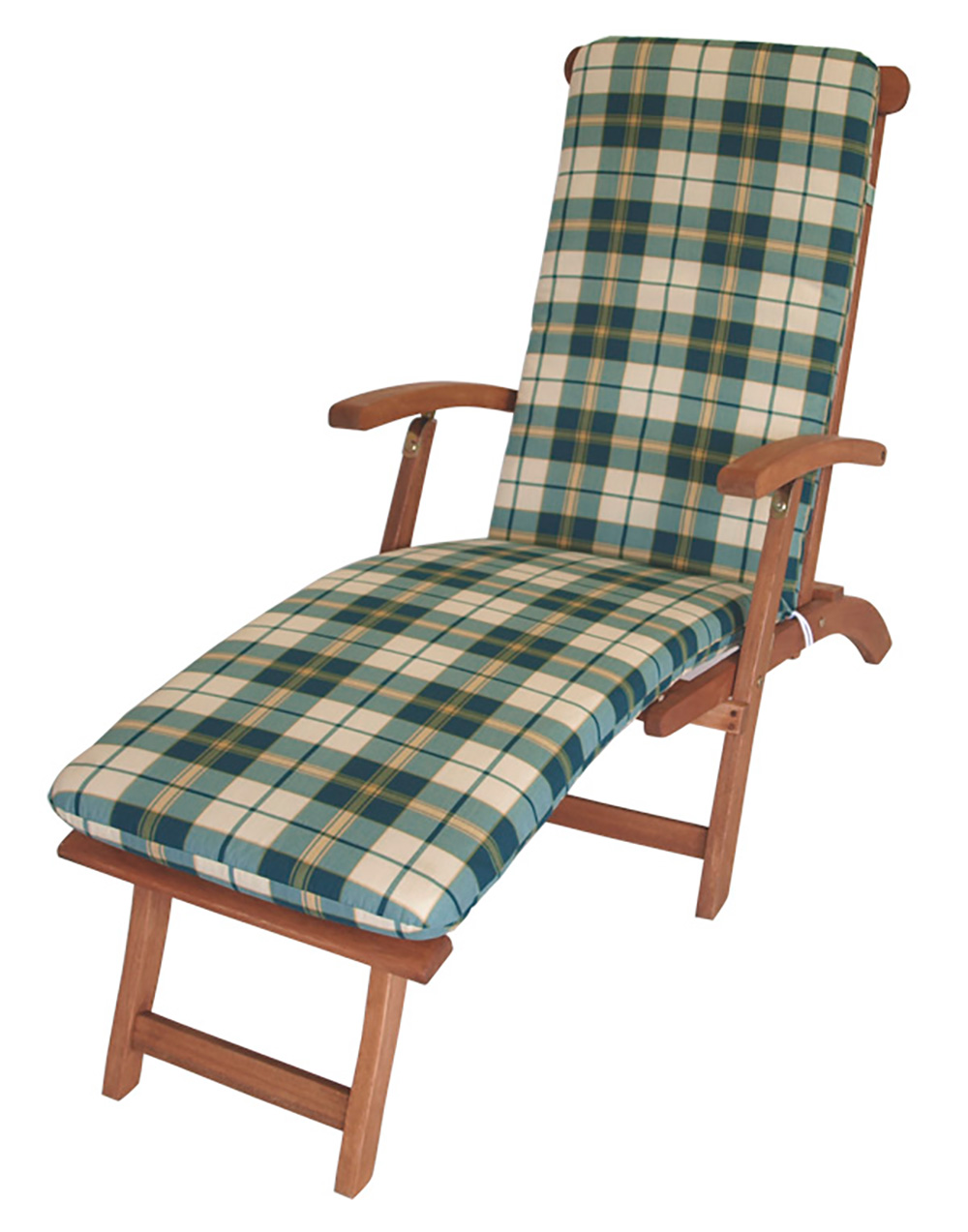auflage liegestuhl gartenm bel deckchair polster liegestuhlauflage boston gr n. Black Bedroom Furniture Sets. Home Design Ideas