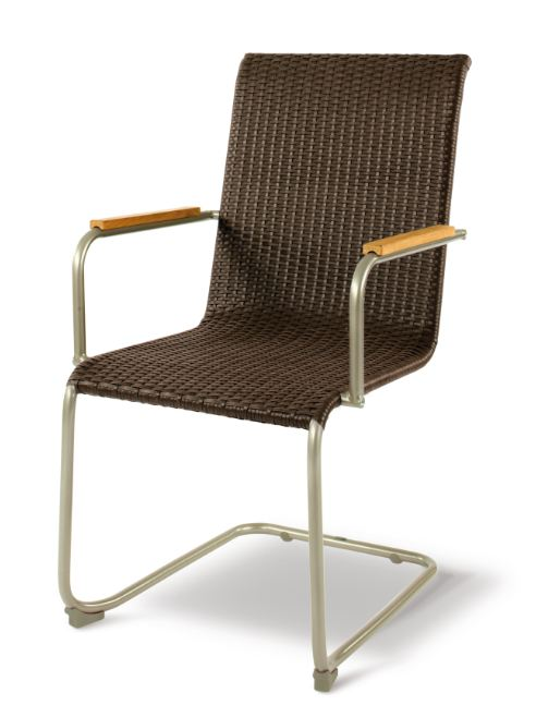 freischwinger safino von royal garden champagner mocca ebay. Black Bedroom Furniture Sets. Home Design Ideas