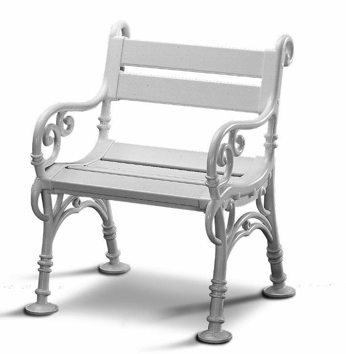 wetterfester gartensessel linderhof kunststoff weiss ebay. Black Bedroom Furniture Sets. Home Design Ideas