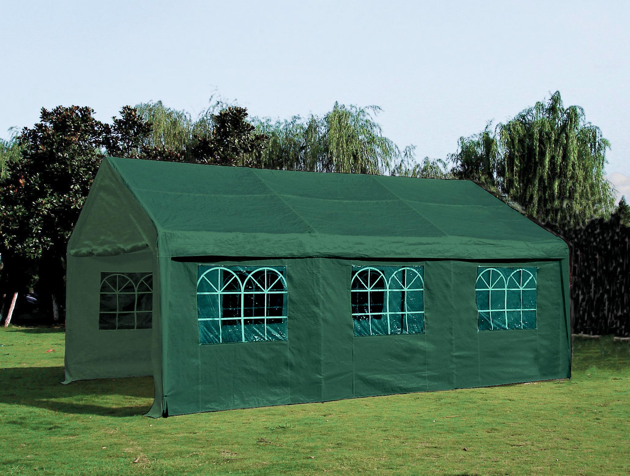 partyzelt pavillon festzelt zelt palma 4x6 meter pe. Black Bedroom Furniture Sets. Home Design Ideas