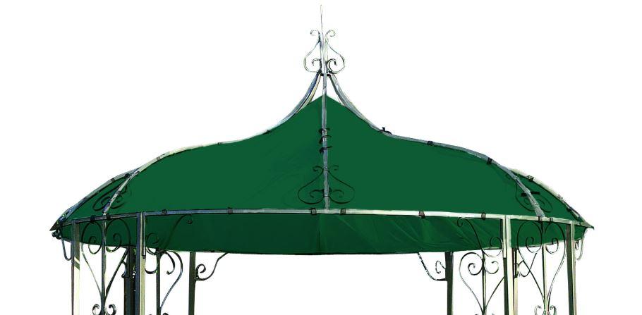 ersatzdach dachplane pavilondach f r pavillon burma 300cm wasserdicht dunkelgr n ebay. Black Bedroom Furniture Sets. Home Design Ideas