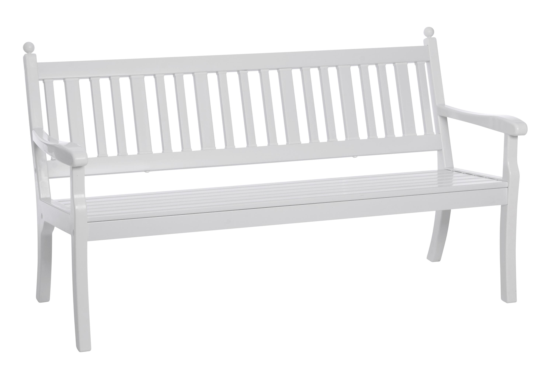 wetterfeste parkbank hohenzollern 3 sitzer von blome kunststoff weiss ebay. Black Bedroom Furniture Sets. Home Design Ideas