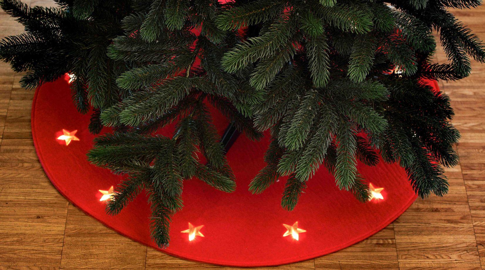 weihnachtsbaumunterlage unterlage f r weihnachtsbaum filz. Black Bedroom Furniture Sets. Home Design Ideas