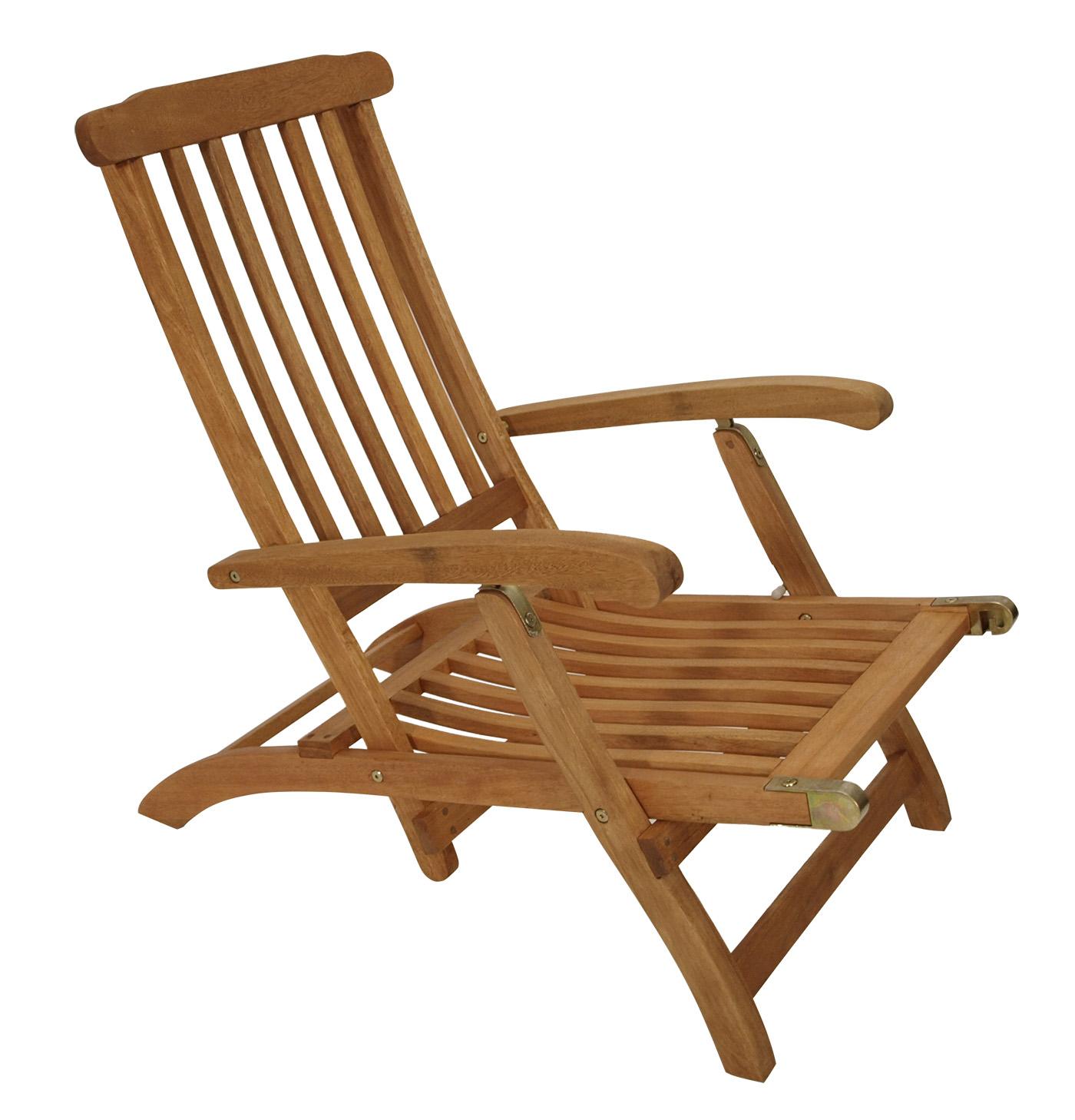 Eleganter Deckchair Liegestuhl MAINE, Eukalyptus Hartholz, FSC u00ae zertifiziert eBay ~ 18031819_Liegestuhl Mehrfach Verstellbar